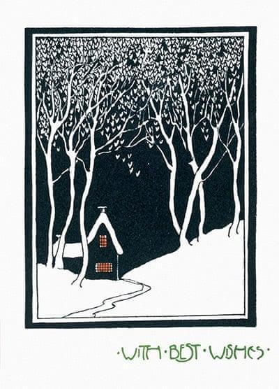 House-in-the-snow-Rachel Holmes